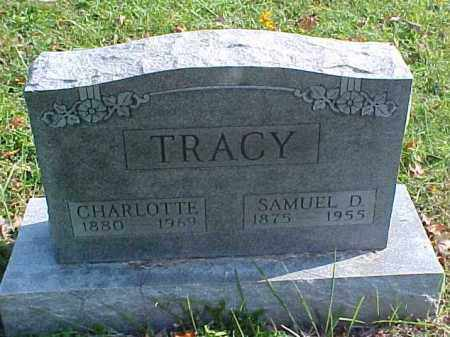 TRACY, CHARLOTTE - Meigs County, Ohio | CHARLOTTE TRACY - Ohio Gravestone Photos