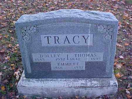 TRACY, EMMETT - Meigs County, Ohio | EMMETT TRACY - Ohio Gravestone Photos