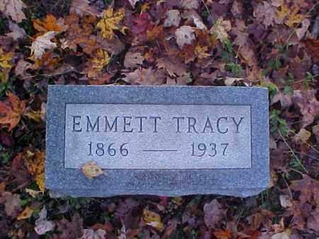 TRACY, EMMETT - Meigs County, Ohio | EMMETT TRACY - Ohio Gravestone Photos