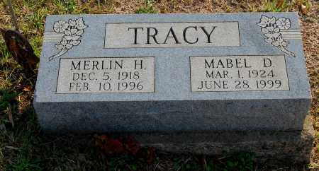 TRACY, MERLIN H. - Meigs County, Ohio | MERLIN H. TRACY - Ohio Gravestone Photos