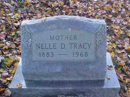 TRACY, NELLE D. - Meigs County, Ohio | NELLE D. TRACY - Ohio Gravestone Photos