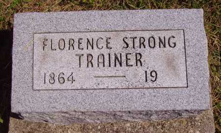 TRAINER, FLORENCE - Meigs County, Ohio | FLORENCE TRAINER - Ohio Gravestone Photos