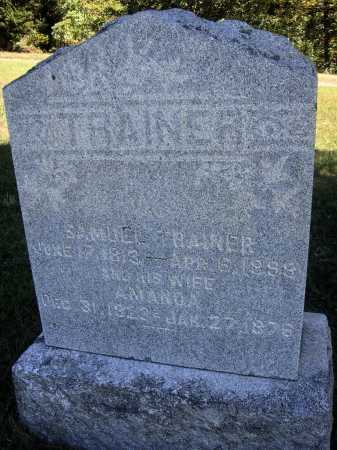 TRAINER, SAMUEL - OVERALL VIEW - Meigs County, Ohio | SAMUEL - OVERALL VIEW TRAINER - Ohio Gravestone Photos