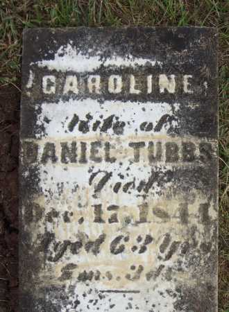TUBBS, CAROLINE - Meigs County, Ohio | CAROLINE TUBBS - Ohio Gravestone Photos