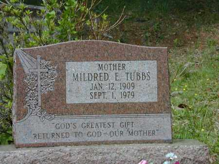 TUBBS, MILDRED - Meigs County, Ohio | MILDRED TUBBS - Ohio Gravestone Photos