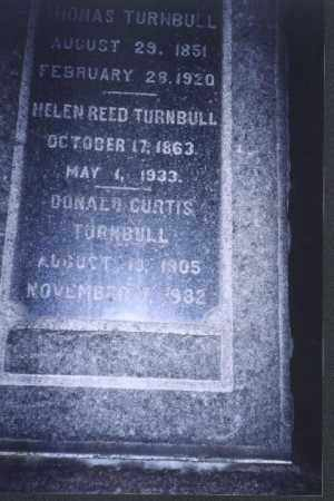 TURNBULL, DONALD CURTIS - Meigs County, Ohio | DONALD CURTIS TURNBULL - Ohio Gravestone Photos