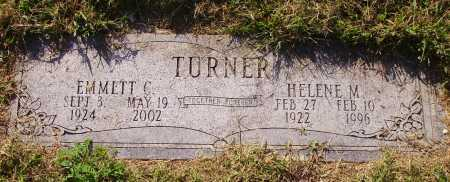 TURNER, EMMETT C. - Meigs County, Ohio | EMMETT C. TURNER - Ohio Gravestone Photos