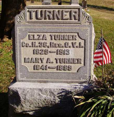 TURNER, MARY A. - Meigs County, Ohio | MARY A. TURNER - Ohio Gravestone Photos