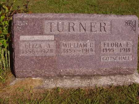 GOTSCHALL TURNER, FLORA E. - Meigs County, Ohio | FLORA E. GOTSCHALL TURNER - Ohio Gravestone Photos