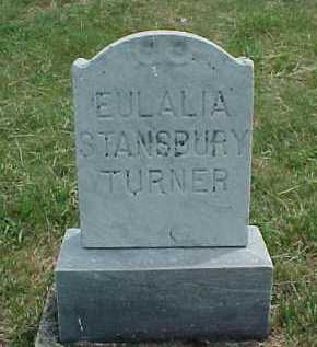 STANSBURY TURNER, EULALIA - Meigs County, Ohio | EULALIA STANSBURY TURNER - Ohio Gravestone Photos