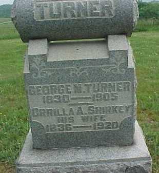 TURNER, GEORGE M. - Meigs County, Ohio | GEORGE M. TURNER - Ohio Gravestone Photos