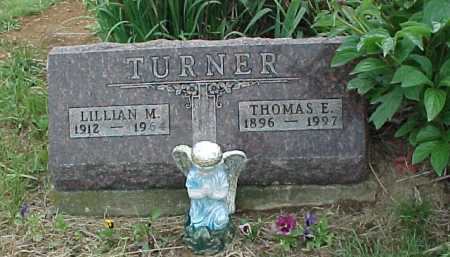 TURNER, THOMAS E. - Meigs County, Ohio | THOMAS E. TURNER - Ohio Gravestone Photos