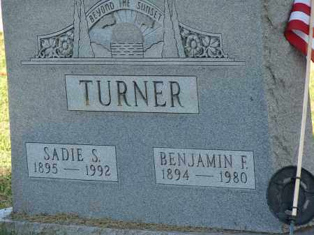 TURNER, BENJAMIN F - Meigs County, Ohio | BENJAMIN F TURNER - Ohio Gravestone Photos