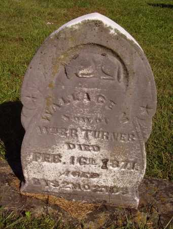 TURNER, WALLACE M. - Meigs County, Ohio | WALLACE M. TURNER - Ohio Gravestone Photos