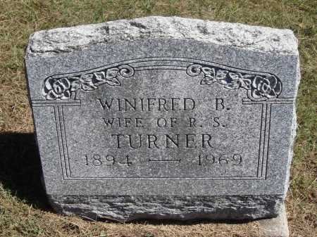 CARPENTER TURNER, WINIFRED B. - Meigs County, Ohio | WINIFRED B. CARPENTER TURNER - Ohio Gravestone Photos