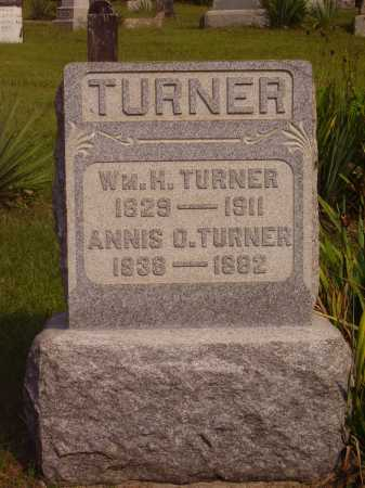 TURNER, WILLIAM HENRY - Meigs County, Ohio | WILLIAM HENRY TURNER - Ohio Gravestone Photos