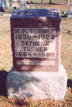 TURNER, W. P. - Meigs County, Ohio | W. P. TURNER - Ohio Gravestone Photos