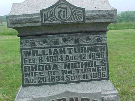 TURNER, RHODA - Meigs County, Ohio | RHODA TURNER - Ohio Gravestone Photos