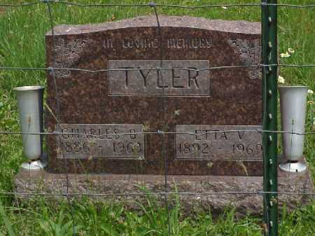 TYLER, ETTA V. - Meigs County, Ohio | ETTA V. TYLER - Ohio Gravestone Photos