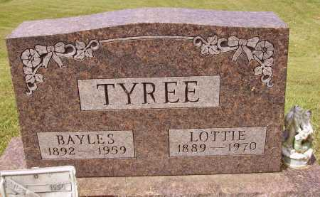 TYREE, BAYLES - Meigs County, Ohio | BAYLES TYREE - Ohio Gravestone Photos