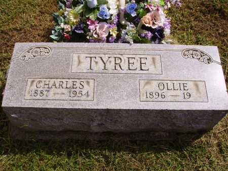 TYREE, OLLIE - Meigs County, Ohio | OLLIE TYREE - Ohio Gravestone Photos