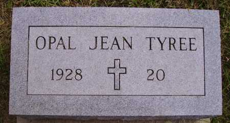 TYREE, OPAL JEAN - Meigs County, Ohio | OPAL JEAN TYREE - Ohio Gravestone Photos