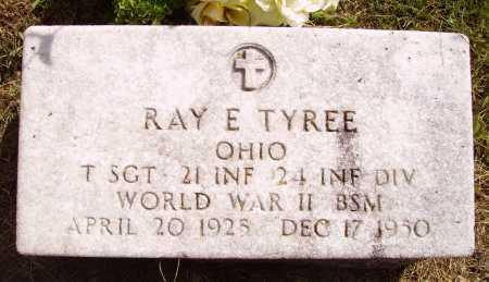 TYREE, RAY E. - Meigs County, Ohio | RAY E. TYREE - Ohio Gravestone Photos