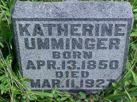 UMMINGER, KATHERINE - Meigs County, Ohio | KATHERINE UMMINGER - Ohio Gravestone Photos