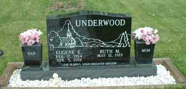 UNDERWOOD, RUTH M. - Meigs County, Ohio | RUTH M. UNDERWOOD - Ohio Gravestone Photos