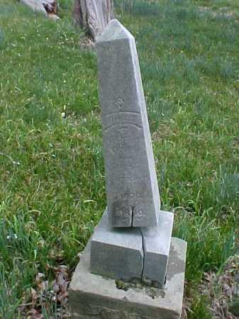 UNKNOWN, CHILD - Meigs County, Ohio | CHILD UNKNOWN - Ohio Gravestone Photos