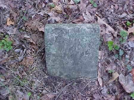 UNKNOWN, E. S. - Meigs County, Ohio | E. S. UNKNOWN - Ohio Gravestone Photos