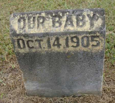 KEEBAUGH ?, OUR BABY - Meigs County, Ohio | OUR BABY KEEBAUGH ? - Ohio Gravestone Photos