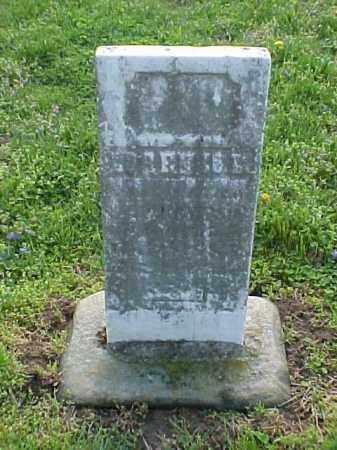 UNREADABLE, STONE - Meigs County, Ohio | STONE UNREADABLE - Ohio Gravestone Photos