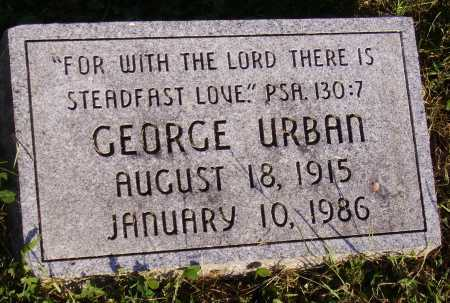 URBAN, GEORGE - Meigs County, Ohio | GEORGE URBAN - Ohio Gravestone Photos