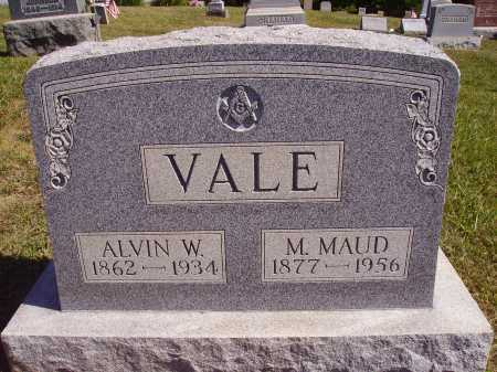 DAILEY VALE, M. MAUD - Meigs County, Ohio | M. MAUD DAILEY VALE - Ohio Gravestone Photos