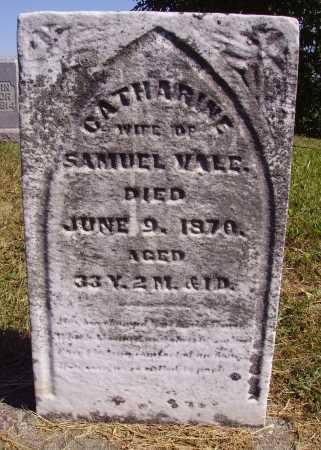 CALVIN VALE, CATHARINE - Meigs County, Ohio | CATHARINE CALVIN VALE - Ohio Gravestone Photos