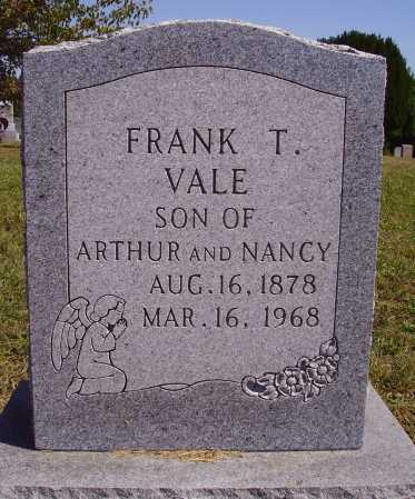 VALE, FRANK - Meigs County, Ohio | FRANK VALE - Ohio Gravestone Photos