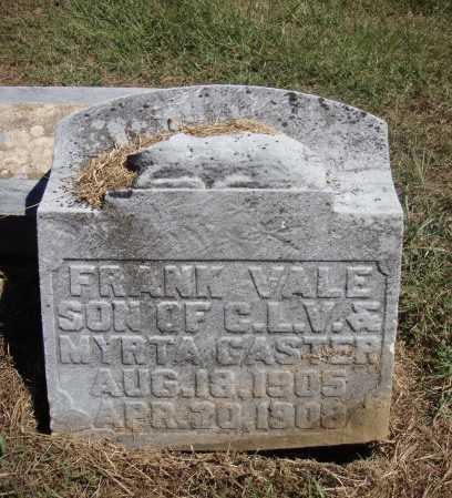 VALE, FRANK - CLOSE VIEW - Meigs County, Ohio | FRANK - CLOSE VIEW VALE - Ohio Gravestone Photos