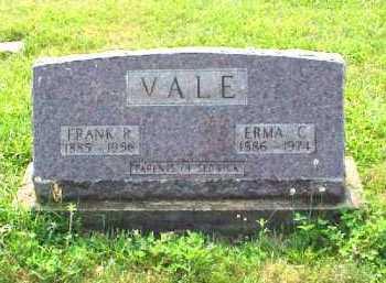 VALE, FRANK R. - Meigs County, Ohio | FRANK R. VALE - Ohio Gravestone Photos