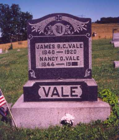 VALE, JAMES B. C. - Meigs County, Ohio | JAMES B. C. VALE - Ohio Gravestone Photos