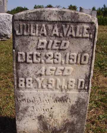 VALE, JULIA A. - Meigs County, Ohio | JULIA A. VALE - Ohio Gravestone Photos