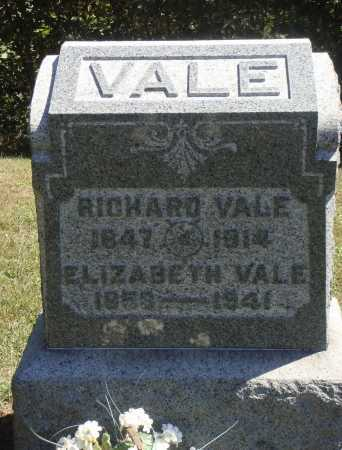 VALE, RICHARD L. - OVERALL VIEW - Meigs County, Ohio | RICHARD L. - OVERALL VIEW VALE - Ohio Gravestone Photos