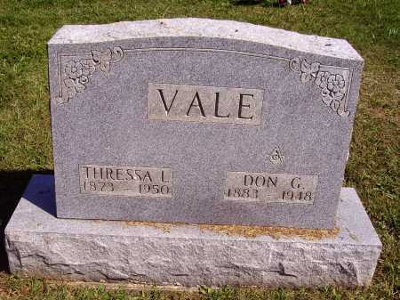 VALE, THRESSA L. - Meigs County, Ohio | THRESSA L. VALE - Ohio Gravestone Photos