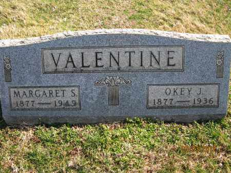 VALENTINE, OKEY J - Meigs County, Ohio | OKEY J VALENTINE - Ohio Gravestone Photos