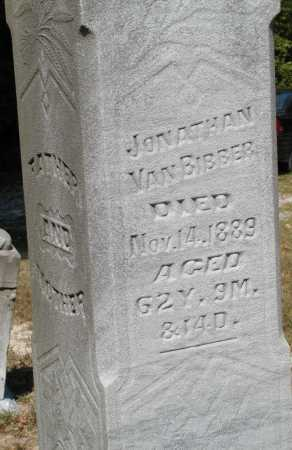 VANBIBBER, JONATHAN - Meigs County, Ohio   JONATHAN VANBIBBER - Ohio Gravestone Photos