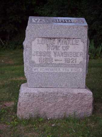 HINKLE VANBIBBER, LOUIE - Meigs County, Ohio | LOUIE HINKLE VANBIBBER - Ohio Gravestone Photos