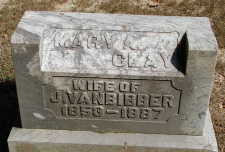 VANBIBBER, MARY A. - Meigs County, Ohio | MARY A. VANBIBBER - Ohio Gravestone Photos