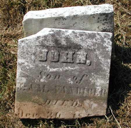 VANBIBER, JOHN - Meigs County, Ohio | JOHN VANBIBER - Ohio Gravestone Photos