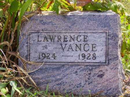 VANCE, LAWRENCE - Meigs County, Ohio   LAWRENCE VANCE - Ohio Gravestone Photos