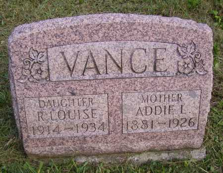VANCE, ADELENE ADDIE L. - Meigs County, Ohio | ADELENE ADDIE L. VANCE - Ohio Gravestone Photos